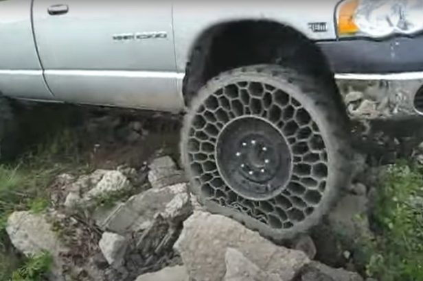 Airless Tires Make Flats a Thing of the Past