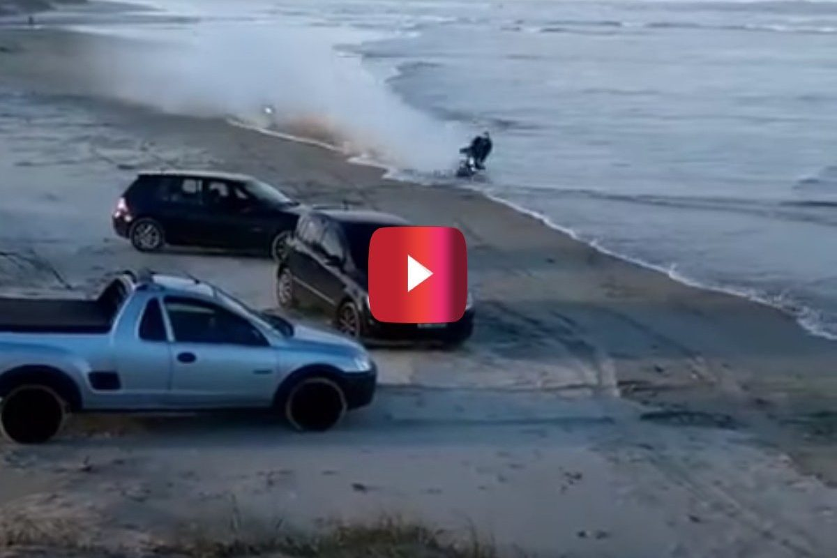 beach motorcycle crash