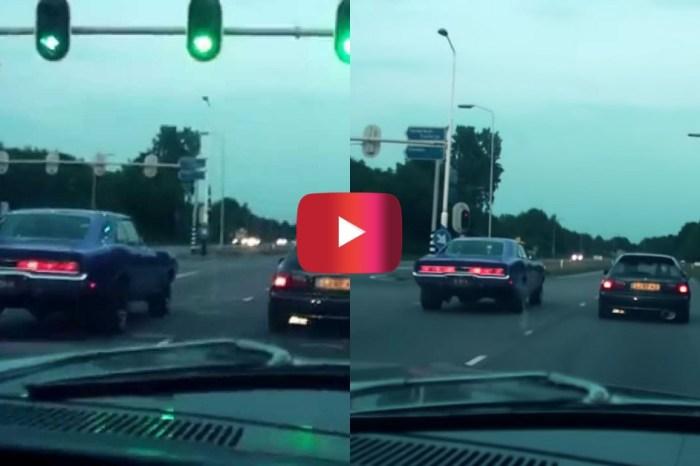 '70 Dodge Charger vs. Honda Civic in Street Race