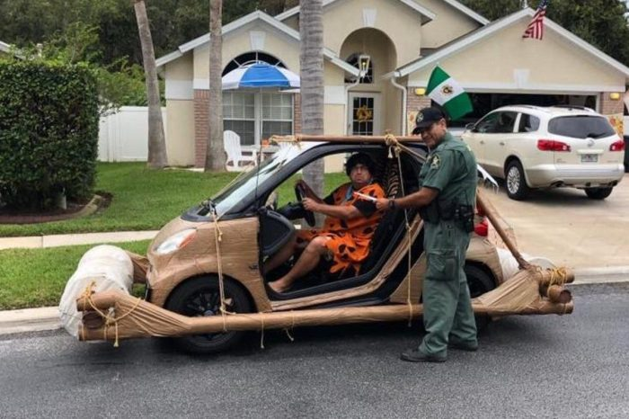 Florida Man Dressed as Fred Flintstone Gets Pulled Over for Speeding
