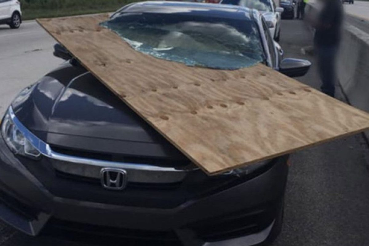 florida woman plywood accident