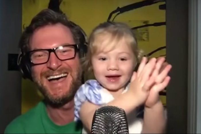 Isla Rose Earnhardt Adorably Steals the Show on Her Dad's Podcast