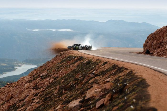 Twin-Turbo Mustang Climbs 14,000 Feet for Intense Stunt Challenge