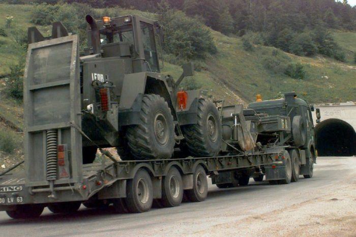 Off-Road Military Trailer Conquers Rough Terrain