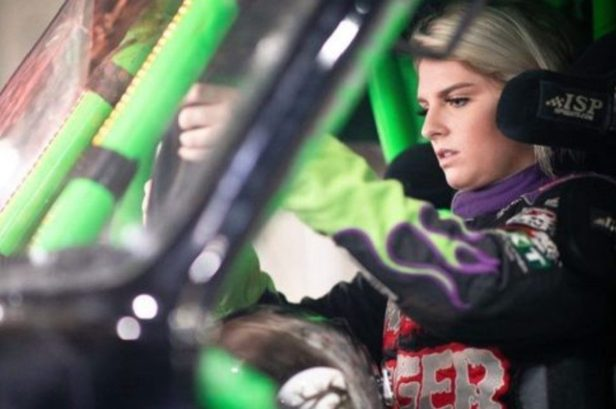 Krysten Anderson: The Monster Truck Driver Follows in Dad's Footsteps