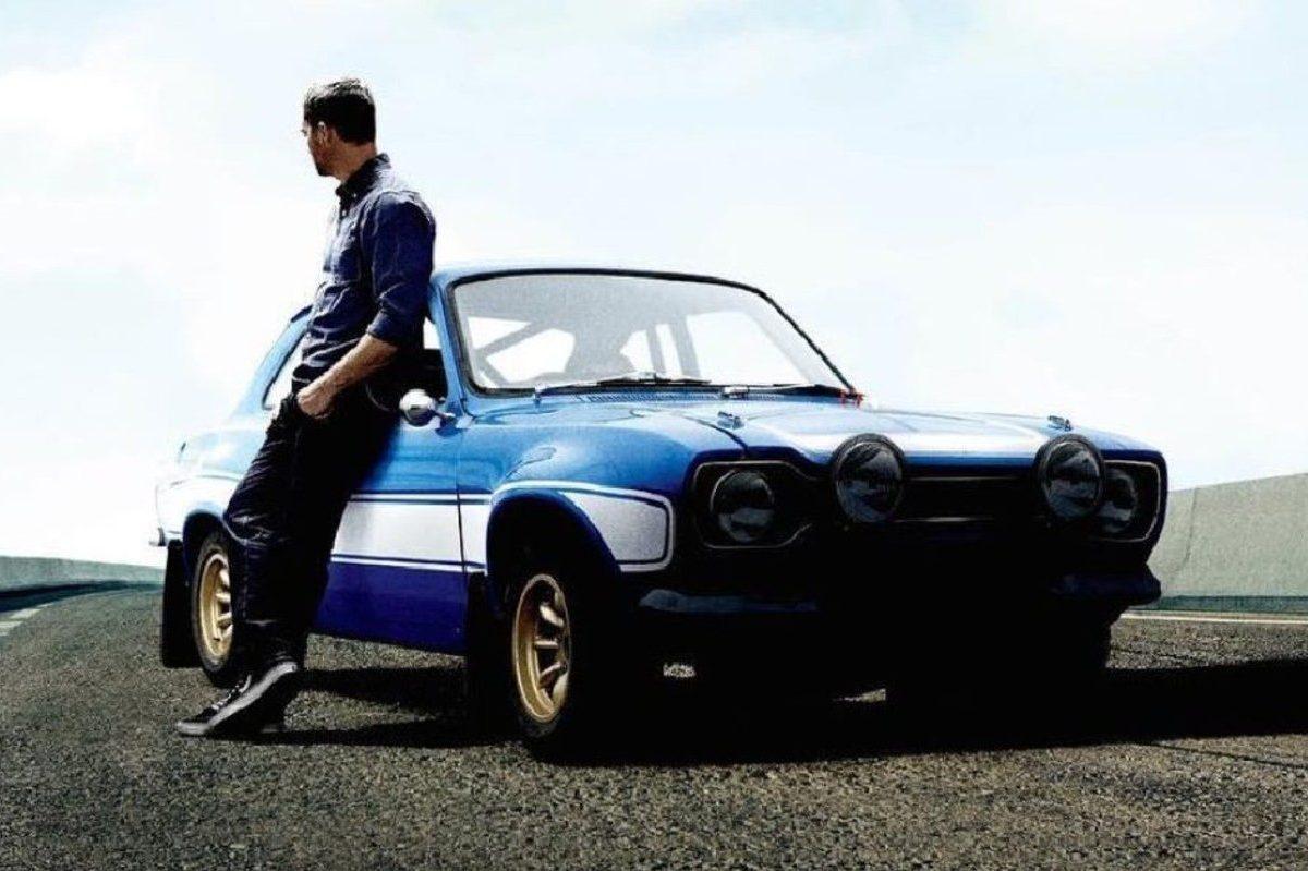 paul walker with car