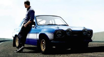 paul walker with car