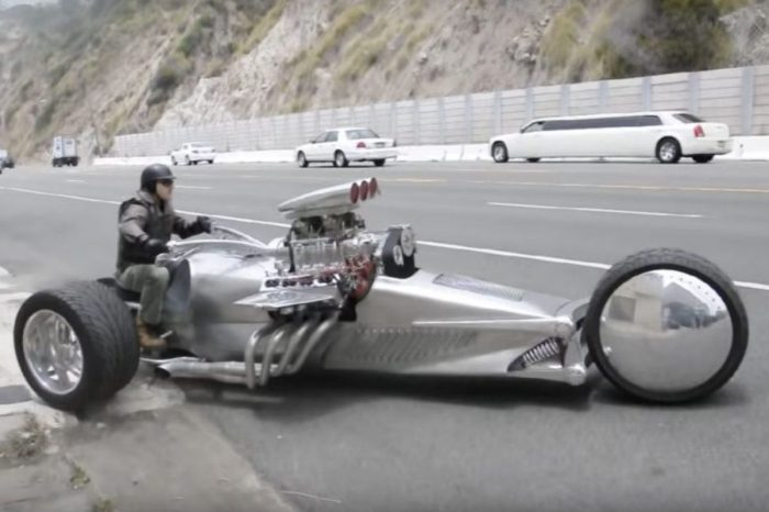 This 1,000-HP Rocket Trike Can Hit 100 MPH in 4.5 Seconds