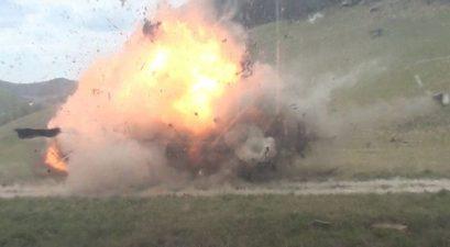 tannerite ford bronco explosion