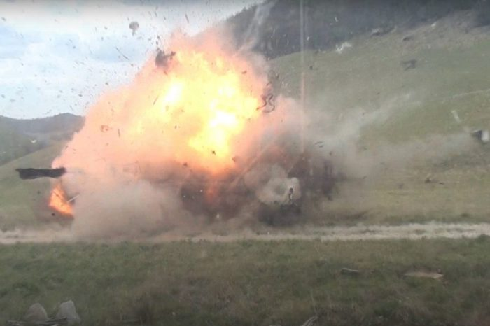 '79 Ford Bronco Gets Obliterated by 30 Pounds of Tannerite