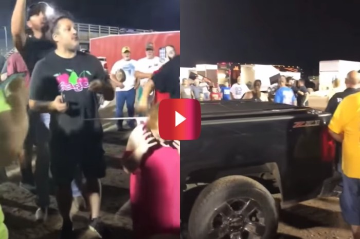Tony Stewart Punched a Heckler, and It Was Caught on a Fan's Camera
