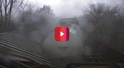 train vs. tornardo