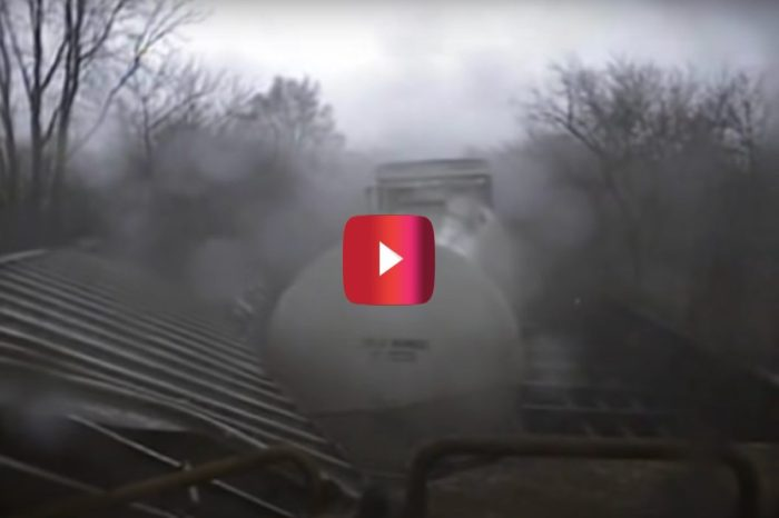 Intense Train vs. Tornado Video Ends With Destructive Collision