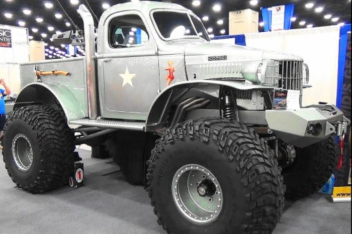 "'41 Dodge Pickup Called ""Sgt. Rock"" Pays Tribute to WWII Vets"