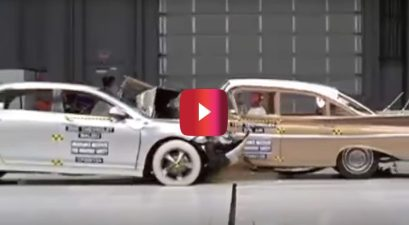 1959 Bel Air vs. 2009 Malibu Crash Test