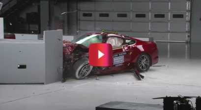 2016 ford mustang crash test