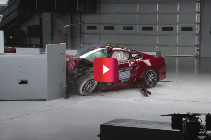 Mustang Beats Camaro and Challenger in Crash Tests