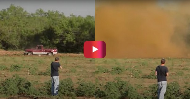 30 Pounds of Tannerite Blows Up '94 Chevy Truck