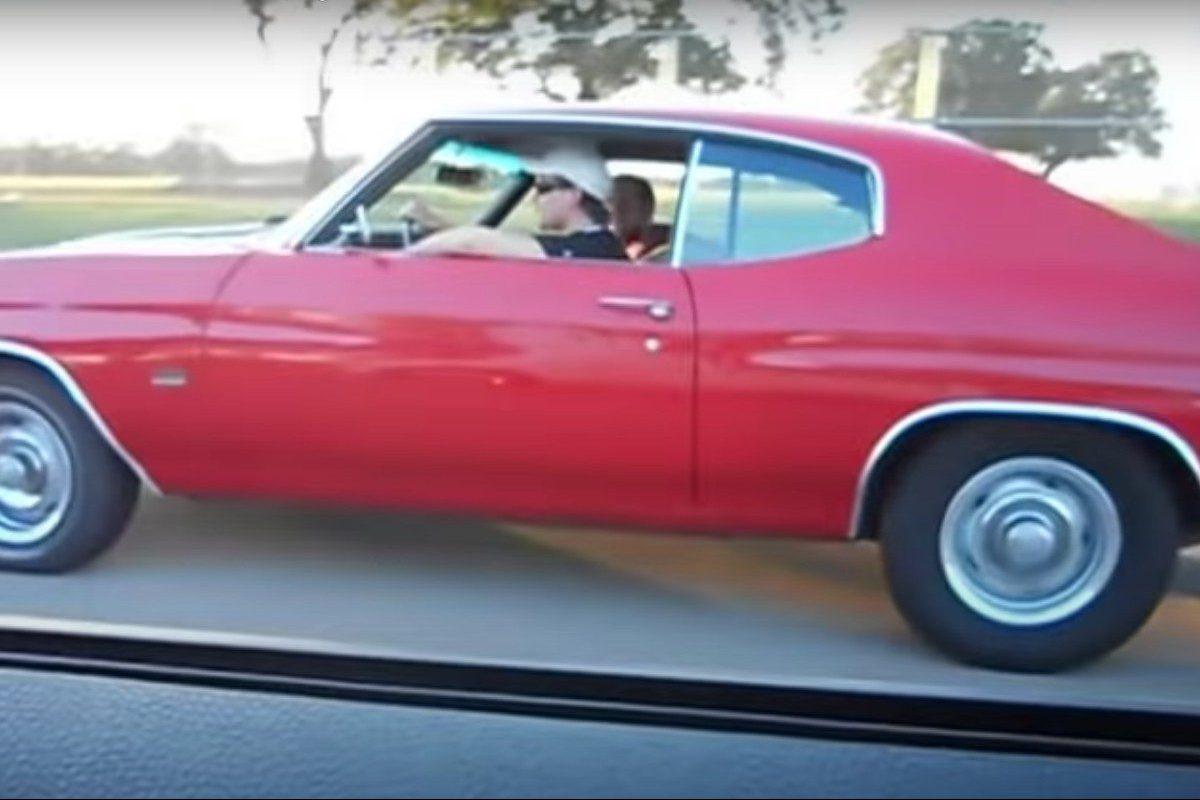 383 Stroker Chevelle vs 09 Mustang GT
