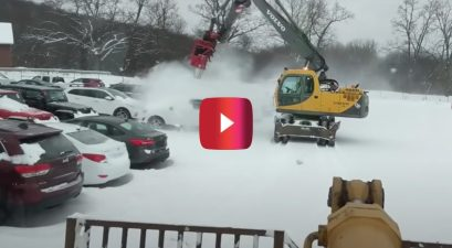 Car Snow Removal Invention