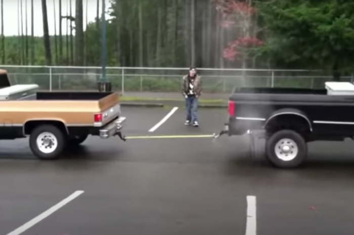 "Chevy vs. Ford: ""Tug of War"" Turns Loser Into a Nice Trailer"