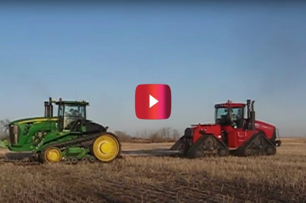 John Deere Tractor Gets Dominated in Tug of War Contest