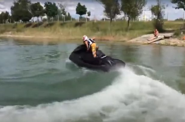 Jet Ski Powered by 1,300-CC Motorcycle Engine Dominates the Water