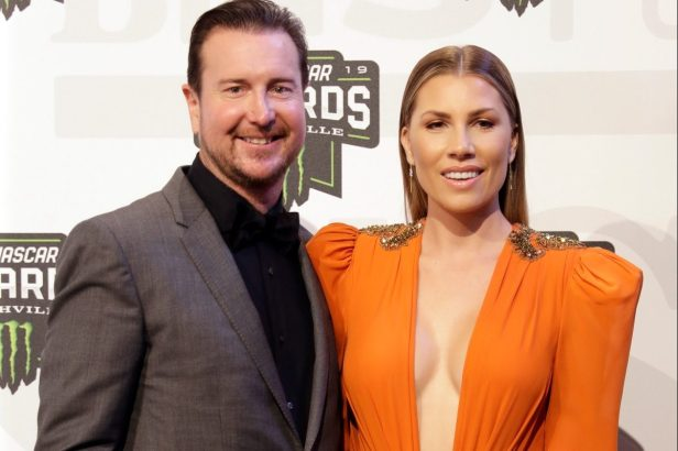 Kurt Busch's Wife, Ashley, Loves Horses and Horsepower