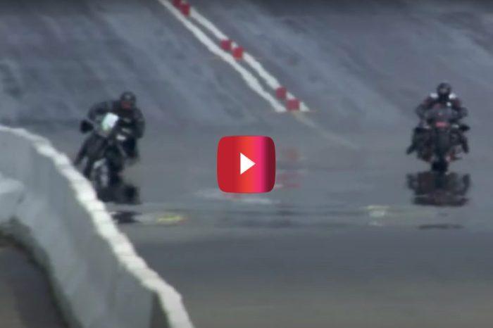 Motorcycle Drag Racer Slams Into Wall at 215 MPH