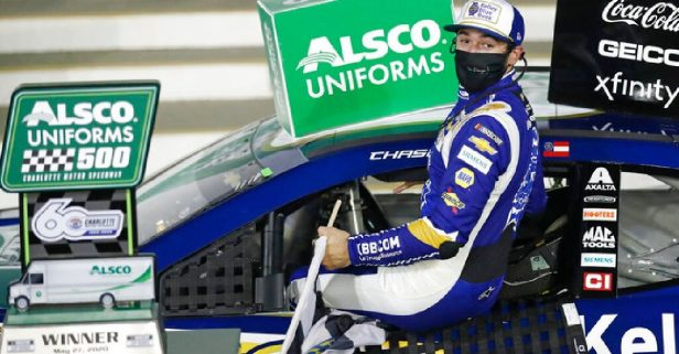 Chase Elliott Bounces Back With Cup Win at Charlotte