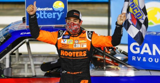Chase Elliott Mocks Kyle Busch After Snapping 7-Race Win Streak