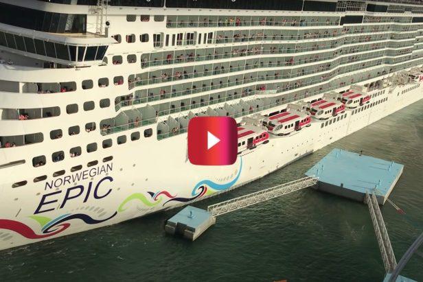 4,000-Passenger Cruise Ship Crashes Into Dock