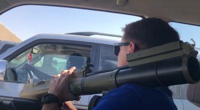 fake road rage rocket launcher