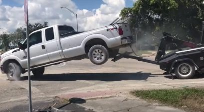 ford f-250 vs. tow truck