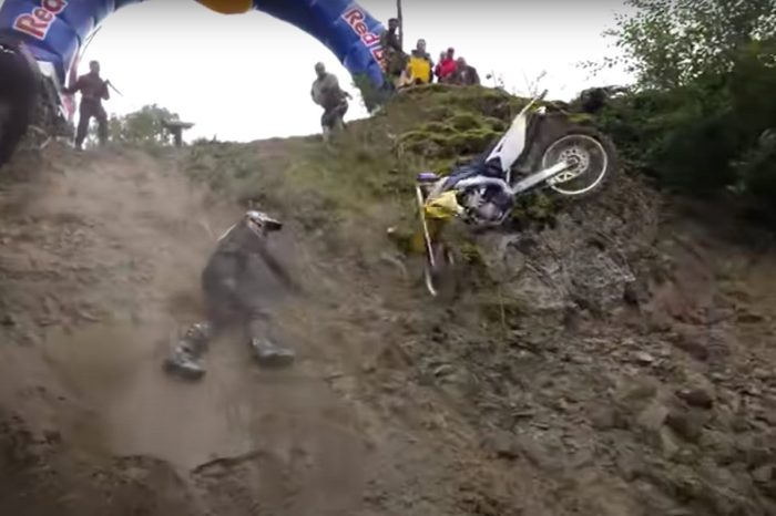 "Dirt Bikers Get Battered and Bruised in ""Impossible Climb"" Competition"