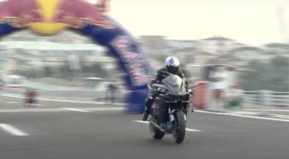 kawasaki h2r world record