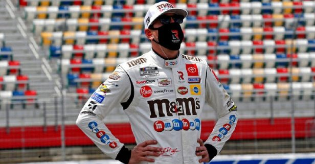 """Kyle Busch Supports Wearing Masks to """"Take Care of Our Neighbor"""""""