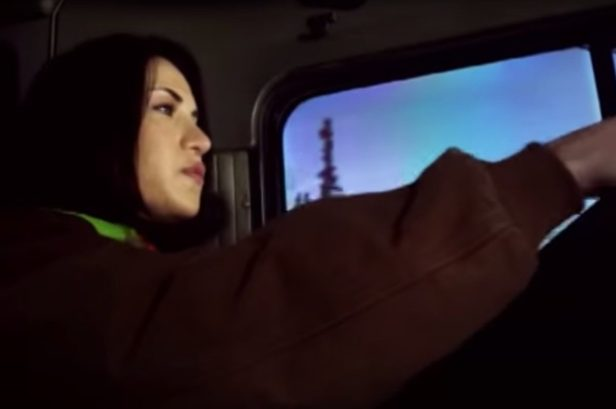 """Ice Road Truckers"" Star Maya Sieber Is a Vet on Alaska's Treacherous Roads"