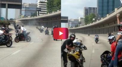 memorial day biker stunt session