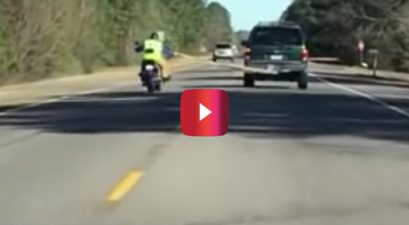 motorcycle towing strap fail