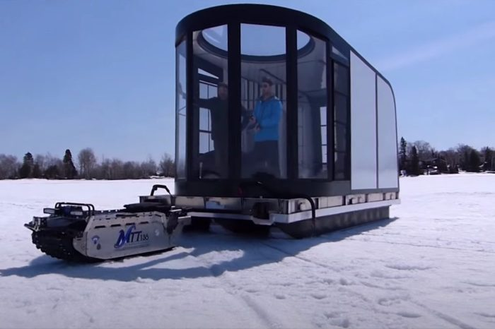 This All-Terrain Sled Serves as a Generator, Firewood Hauler, and More