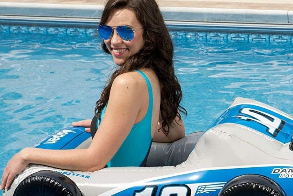 nascar pool float