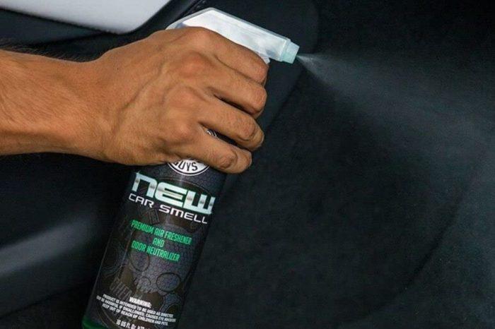"""New Car Smell"" Spray Makes Vehicles Smell Brand New"