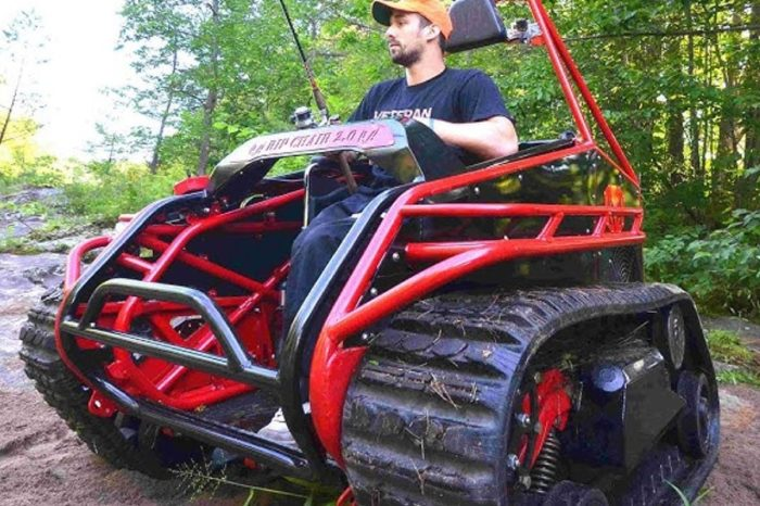 This Off-Roading Wheelchair Is Perfect for the Hardcore Outdoorsman