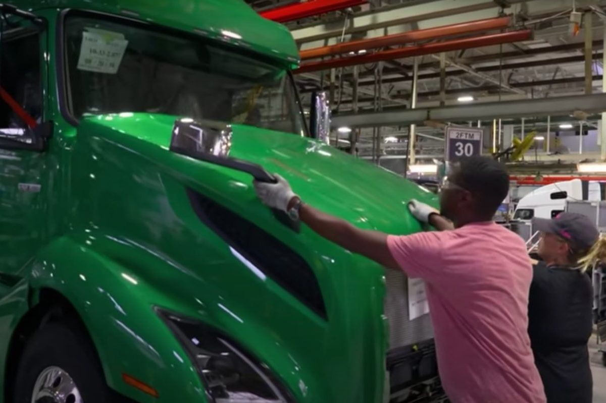 the making of an american semi truck