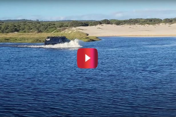 Toyota Hilux Crosses Creek for Impressive Off-Roading Display