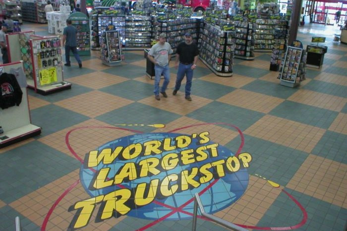 World's Largest Truck Stop Has Movie Theater, Dentist's Office, and More