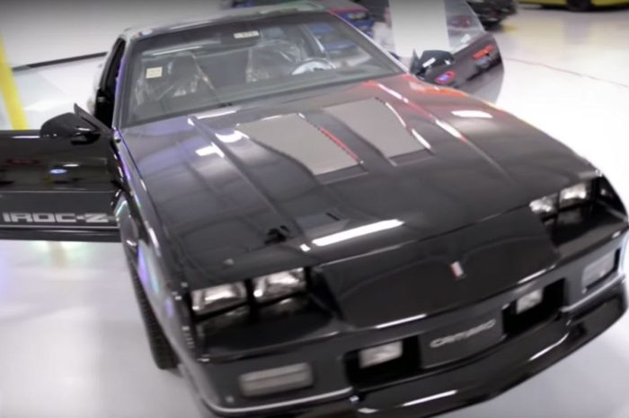 '85 IROC Z28 Discovered After Over 2 Decades in Trailer