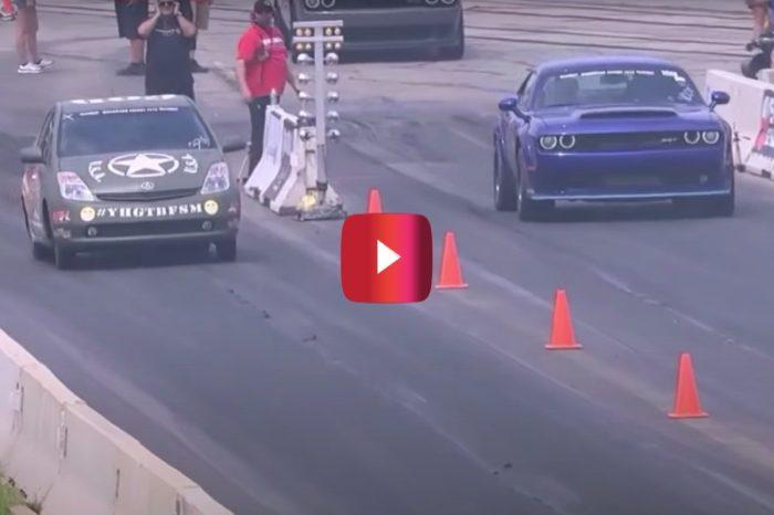 Prius Drag Races Dodge Demon, But This Ain't Your Average Prius