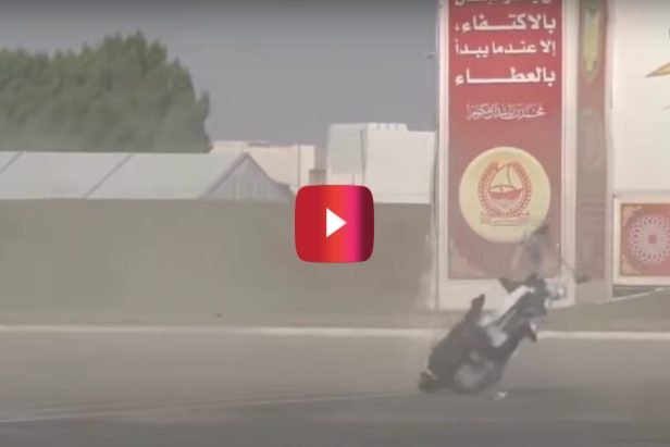 Police Officer Test Flies Hoverbike, But Ends Up Biting It Big Time